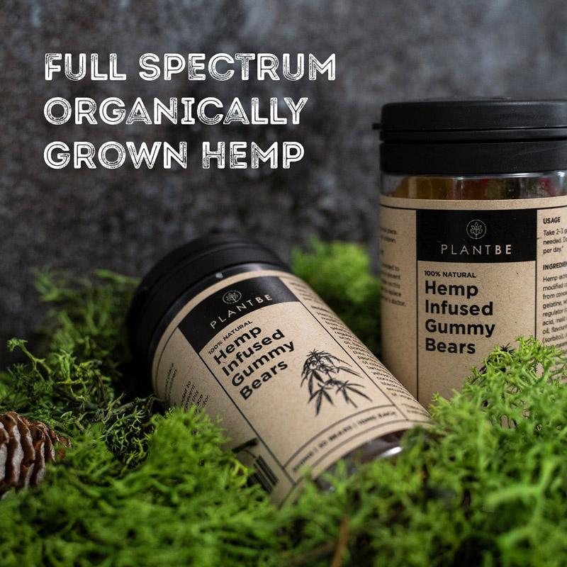 Plant Be | CBD Hemp Infused Gummy Bears | 300MG